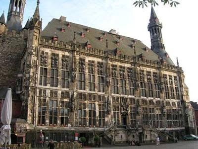 Aquisgrana palazzo del municipio