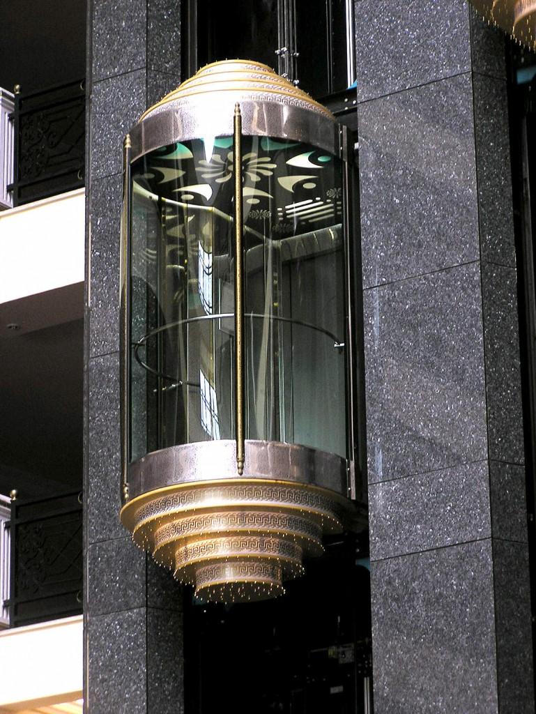 Ecco la foto di come NON sono gli ascensori della tua palazzina in Germania. Credits: tOrange.us