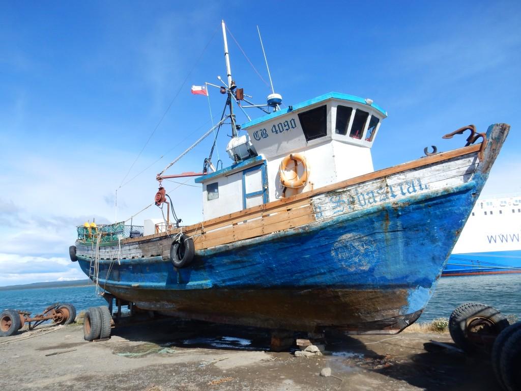 puerto natales barca